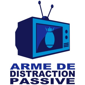 Arme de distraction passive