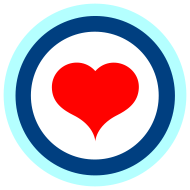 Design ~ Target with a heart