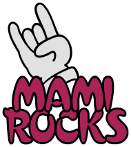 Muttertag Shirt: mami rocks (3c)