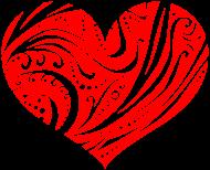 Valentinstag Shirt: Ornamental Heart (2009)