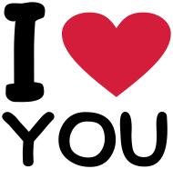 Valentinstag Shirt: I love you