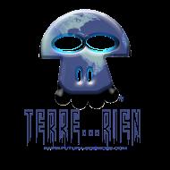 Motif ~ terrien_texte_bleu