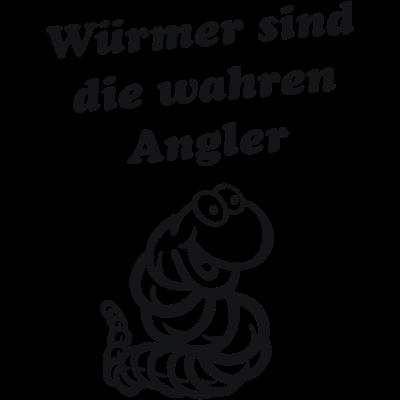 Wurm - Würmer sind die wahren Angler, Wurm, Worm, Worms - wurm,worm,Würmer sind die wahren Angler,Worms