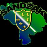 Mapa Sandzaka