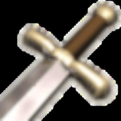 Schwert - Zeichen von ''Die Stämme'' -