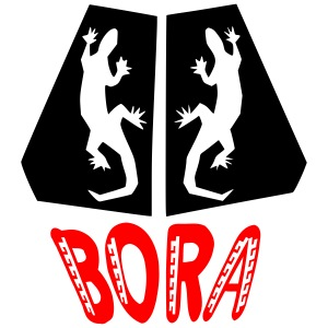 gecko bora bora
