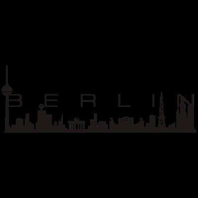 BERLIN Skyline - Die einzige Skyline die dir ganz Berlin zeigt - von bis West! Zeig woher du kommst! - symbole,stadt,skyline,hauptstadt,berliner,berlin,Zoo,Wahrzeichen,Skyline,Messeturm,Ick bin ein Berliner,Hauptstadt,Gedächtniskirche,Brandenburger Tor,Berliner,Berlin Zoo,Alexanderplatz,Alex