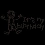Es ist mein Geburtstag - Boy