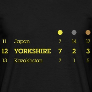 Yorkshire Olympic Medal Table - Men's T-Shirt