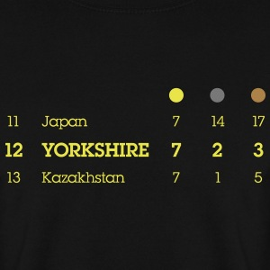 Yorkshire Olympic Medal Table - Men's Sweatshirt