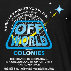 Off World Colonies - Men's T-Shirt