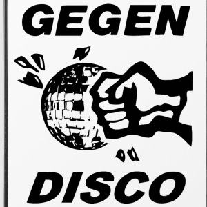 Gegen Disco (black print) - iPhone 4/4s Hard Case