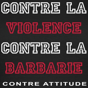 VIOLENCE & BARBARIE - T-shirt Femme