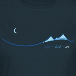 Clean Blue Air - Women's T-Shirt