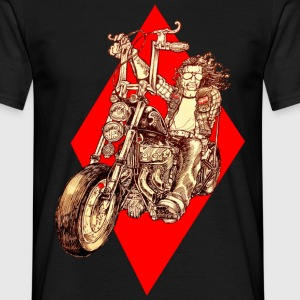 Diamond Biker - Mannen T-shirt