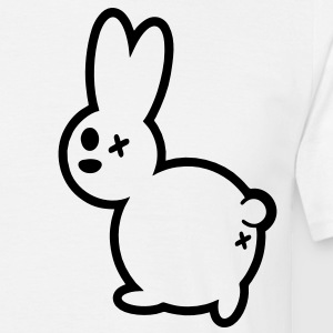 cartoon hase T-Shirts - Männer T-Shirt