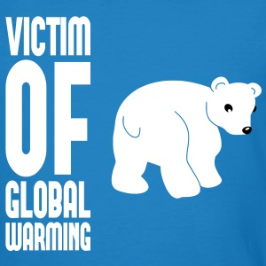 Victim of global warming - Eisbär T-Shirts - Männer Bio-T-Shirt