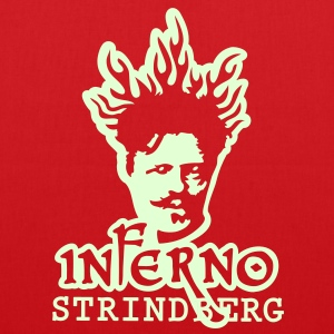 Inferno Strindberg Black 2c Bags & Backpacks - Tote Bag