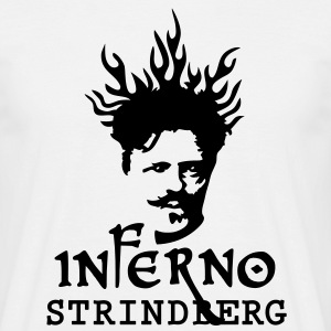 Inferno_Strindberg_on-white_3c T-Shirts - Men's T-Shirt