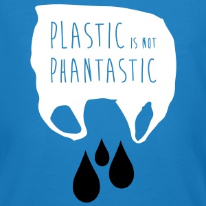 Plastic is not Phantastic - Männer Bio-T-Shirt