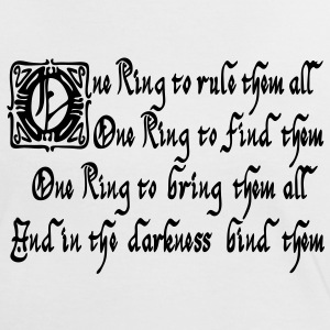 One Ring Tee shirts - T-shirt contraste Femme