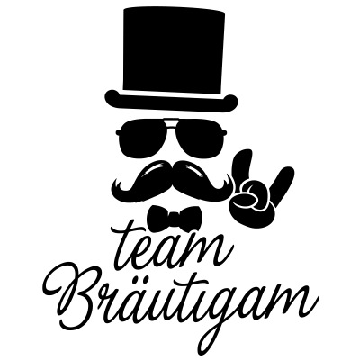team Bräutigam Bachelor Hochzeit stag do ehe party T-Shirts