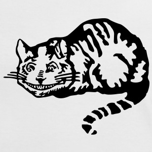 Cheshire Kat T-shirts - Vrouwen contrastshirt