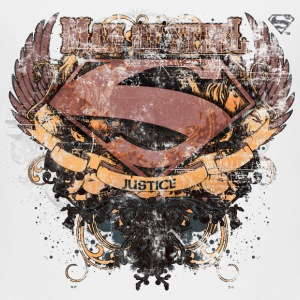 Superman S-Shield Man of Steel børne-T-shirt - Børne premium T-shirt