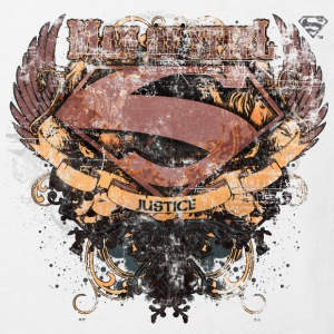 Superman S-Shield Man of Steel børne-T-shirt - Organic børne shirt
