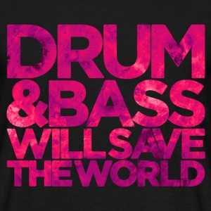 D&B WILL SAVE THE WORLD PINK - Men's T-Shirt