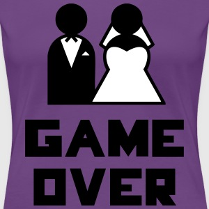 Game Over Tee shirts - T-shirt Premium Femme