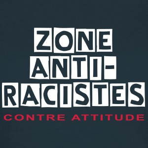 ZONE ANTI-RACISTES - T-shirt Femme