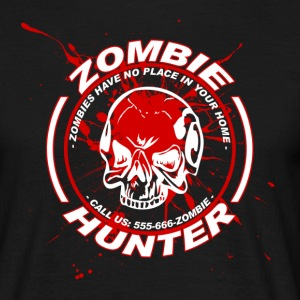 Zombie Hunter - Männer T-Shirt