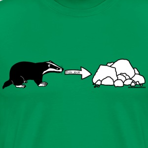 Rock Badger - Men's Premium T-Shirt