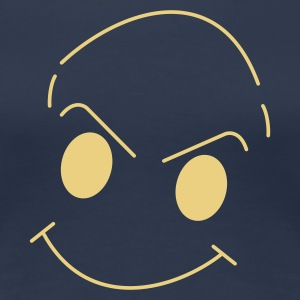 Smiley - Dame premium T-shirt