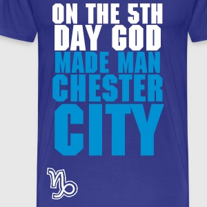 Man City - our time - Men's Premium T-Shirt