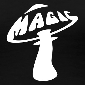 Magic Mushrooms T-Shirt, Girlie - Frauen Premium T-Shirt
