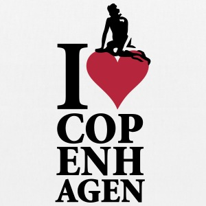 I Love Copenhagen Bags & backpacks - EarthPositive Tote Bag
