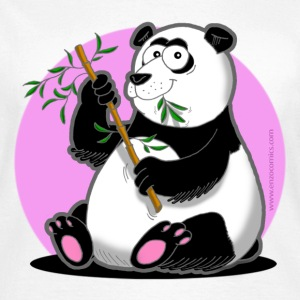 Tier-Shirt Panda - Frauen T-Shirt