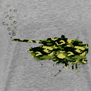 soap bubbles splash tank - Wood Camo - Männer Premium T-Shirt
