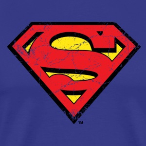 Superman S-Shield T-Shirt for Men - Mannen Premium T-shirt