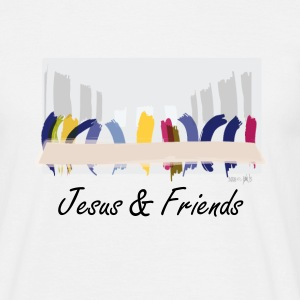 Jesus & Friends - Männer T-Shirt