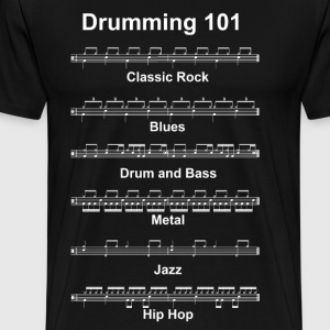 Drumming 101 - Men's Premium T-Shirt