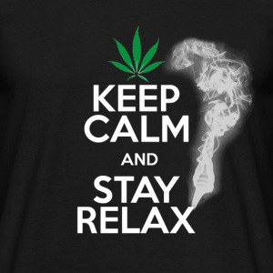 Keep Calm and Stay Relax... Man! - T-shirt Homme