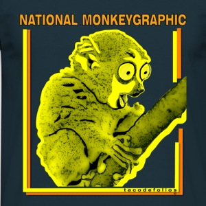 National monkeygraphic - Men's T-Shirt