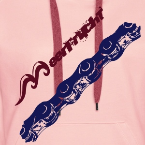 Bicycle Chain Hoodies & Sweatshirts - Women's Premium Hoodie
