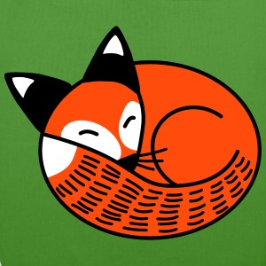 Sleepy Fox - EarthPositive Tote Bag