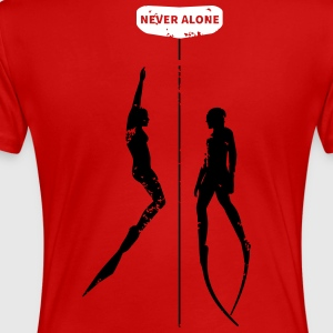 Never Alone II - Frauen Premium T-Shirt