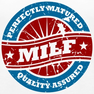 Milf- Perfectly Matured - Women's Premium Tank Top