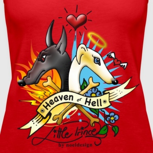heaven_or_hell Tops - Frauen Premium Tank Top